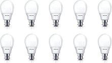 10x Philips Softone Warm White Fluorescent 8W (38W