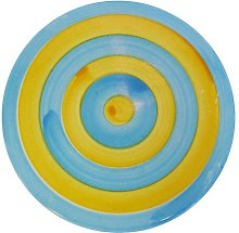 11.4cm Coaster Symple Stuff Colour: Light Blue /