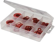 110 Piece Fibre Washers Pack - 10mm X 3mm Centre