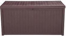 113gal 430L Outdoor Garden Plastic Storage Deck