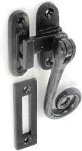 115mm Black Antique Casement Fastener - Securit