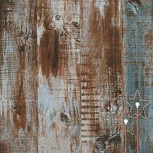 118''x236'' Wood Peel and Stick