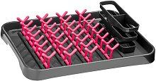 11cm Dish Drainer Symple Stuff Colour: Hot Pink /