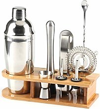 11pcs Stainless Steel Cocktail Shaker Mixer Wine