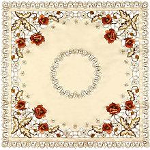 11Size Luxury European Pastoral Embroidered Flower