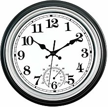 Shiwaki INDOOR//OUTDOOR DIGITAL WIRELESS THERMOMETER TEMPERATURE GAUGE CLOCK