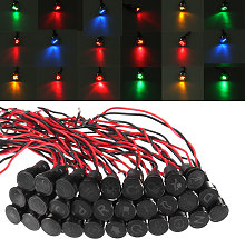 12/24 / 36V 12mm LED symbol Dashboard panel