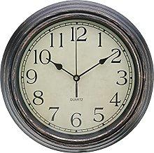 12'' Wall Clock Modern Vintage Rustic