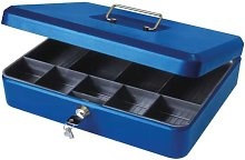 12' Blue Cash Box - Cathedral