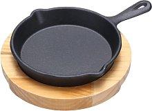 12.5cm Cast Iron Skillet Frying Pan Samuel Groves