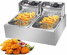 12.7QT/12L Electric Deep Fryer, 2500W 220-240V