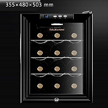 12 Bottle Thermoelectric Wine Cooler - Red and