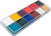 12 Colors Face Body Paint Oil Painting Art Make Up