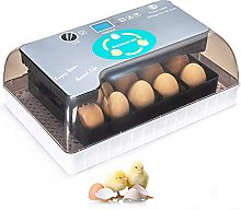 12 Egg Incubator Automatic Poultry Turning And