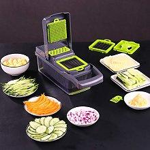 12 in 1 Hand Operated Vegetable Mandolin Slicer