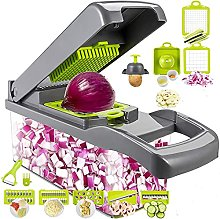12 in 1 Vegetable Chopper and Dicer, Food Chopper