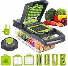 12-in-1 Vegetable Cutter Food Cutter, Vegetarian