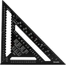 12 inch aluminum alloy triangle square ruler