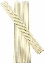 12 inch BBQ Bamboo Skewers Sticks Extra Long