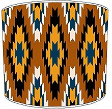 12 Inch Ceiling aztec print lampshades24