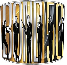 12 Inch Ceiling james bond lampshades7