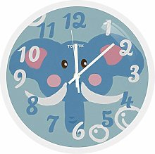12 Inch Colorful Teaching Clock Silent Non-Ticking