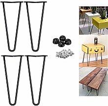 12 inch Metal Table Legs 30cm Hairpin Table Leg
