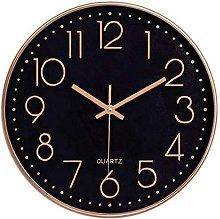 12-Inch Modern, Quartz, Silent, Wall Clock /