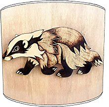 12 Inch Table badgers lampshades14
