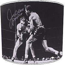 12 Inch Table raging bull boxing lampshades4