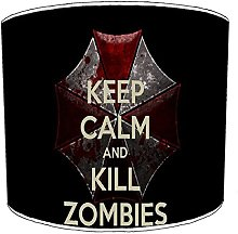 12 Inch Table zombie monster lampshades9