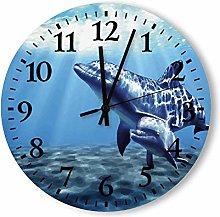 12 Inch wooden clock Decorative Round Large