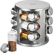 12 Jar Free-Standing Spice Rack Stoneline