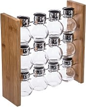 12-Jar Free-Standing Spice Rack Symple Stuff