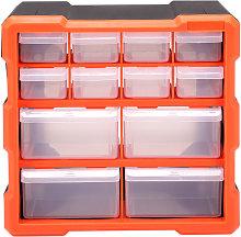 12 Multi Drawer Parts Storage Cabinet Unit