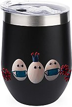 12 Oz Coffee Mug, Vacuum Insulated Camping Mug