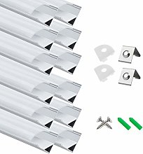 12-Pack LED Aluminum Profile, LightingWill LED