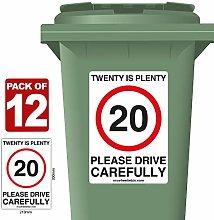 12 Pack of 20 Is Plenty Speed Reduction Wheelie