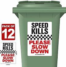 12 Pack of Speed Kills Please Slow Down Speed