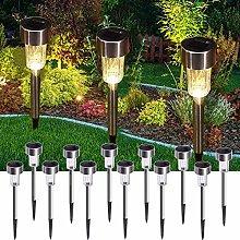 [12 Pack] Solar Garden Lights Outdoor,Pathway