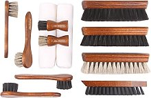 12-part shoe polish set for smooth leather –