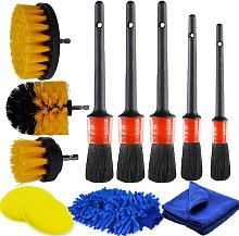 12 Pcs Car Detailing Brushes,Auto Car Cleaning Kit