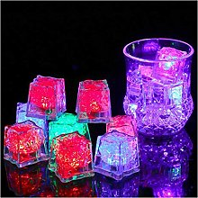12 Pcs Updated Version Water Submersible Light Up