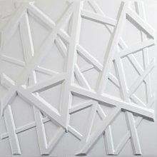 12 Piece Powers 50cm x 50cm 3D Embossed Wallpaper