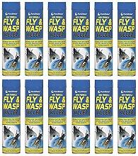 12 x Fly & Wasp Killer Spray