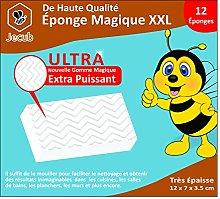 12 x JECUB™ Magic Eraser Sponge - Wipes Dirt,