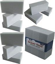 12 x Super Sponge Grey Giant Eraser 12x6, 5x4cm