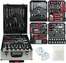 1200 Pieces Aluminium Tool Box Tool Set Tool Box