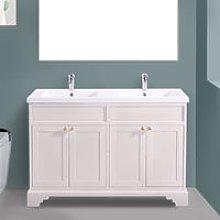 1200mm Ivory Floor Standing Bathroom Furniture