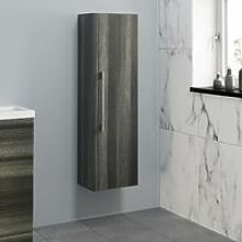 1200mm Tall Bathroom Wall Hung Cabinet Cupboard